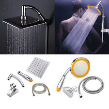 Set di supporti per braccio doccia con getto ad alta pressione universale per