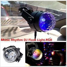 1x Car Music Rhythm Sound Disco DJ Activated Effect LED Flash RGB Colorful Light