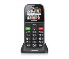 Cellulari BRONDI - AMICO GENTILE + NERO Senza 4G-LTE Micro SD
