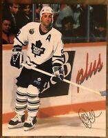 Doug Gilmour Toronto Maple Leafs Autographed Signed 11x14 Photo