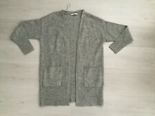 GEORGE SOFT, WARM & COSY MACHINE KNIT LONG NON FASTENING CARDIGAN SIZE 8 10