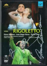 DVD Diana DAMRAU, Juan Diego FLOREZ Signiert VERDI: RIGOLETTO Zeljko Lucic LUISI