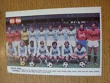"""1976/1977 Football Magazine (France) Colour Team Group [8""""x 5""""] Cut Outs: Troyes"""