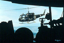 """""""The Ride Back"""" Sam Lyons Army Huey Helicopter Print"""