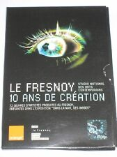 POCHETTE 2 DVD / LE FRESNOY 10 ANS DE CREATION / TRES RARE / TRES BON ETAT