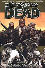 WALKING DEAD VOL #19 TPB MARCH TO WAR Robert Kirkman Comics AMC #109-114 TP