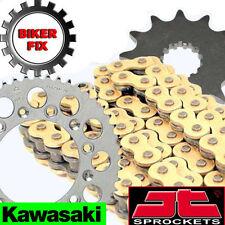 Kawasaki KX125 H1-H2 90-91 GOLD HDR Chain and Sprocket Set Kit