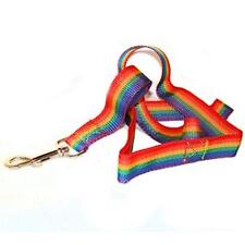 Gay Pride Leash 4 Foot Rainbow Dog Lead