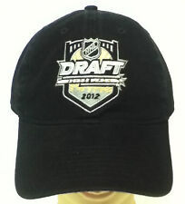 NHL 2012 Draft Pittsburgh Reebok Cap Hat Buckle-Back FREE SHIPPING & NEW!!