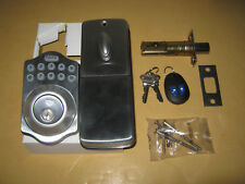 Lockey E-910 E-Digital electronic deadbolt lock keypad remote control key access