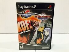 The King of Fighters 2000 & 2001 PlayStation 2 - PS2 - Complete!!!