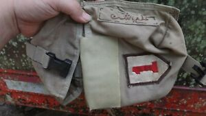Spec Ops Brand Pouch with Theater Made 1st ID and Arabic / English Patch OEF OIF