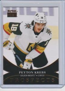 20-21 Metal Universe Skybox Premium Prospects PP-14 Peyton Krebs RC