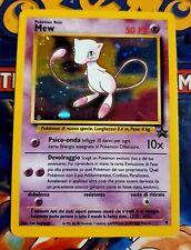 Pokemon Black Star Promo Mew Holo #9 ITA