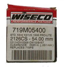 Wiseco Piston Kit STD 54mm Kawasaki KX125 1998 Pro-lite 719M05400