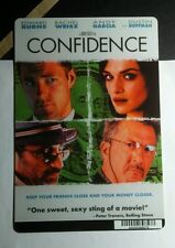 CONFIDENCE BURNS WEISZ GARCIA HOFFMAN ART MINI POSTER BACKER CARD (NOT A movie )