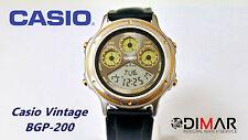 CASIO VINTAGE  BGP-200 QW.931 JAPAN AÑO 1990 WR.50M MULTI PLANNER