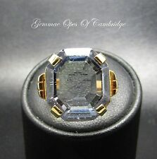 18ct Gold 18K Tested Created Colour Change Sapphire Solitaire Ring Size K 9g