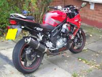 Hyosung GT650R GT650 Performance Motorbike Road-Legal/Race Exhaust Muffler
