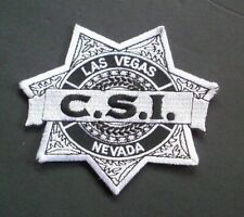 C.S.I. Las Vegas Police Embroidered Patch -new