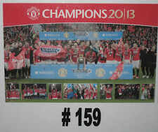 Manchester United Champions Celebration Poster Brand New (159) - rolled in tube