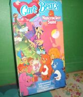 The Care Bears Nutcracker Suite VHS 1988 HTF Christmas Musical Video Tape