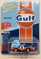 DODGE A-100 TRUCK GULF OIL 1/64 SCALE BY JOHNNY LIGHTNING NOT HOT WHEELS