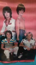 BAY CITY ROLLERS POSTER 1970's  Full Color ( SATURDAY NIGHT )