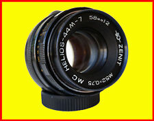 Helios 44M-7 MC Soviet lens f/2/58mm M42 MOUNT,8 blades, 2 caps