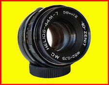 Helios 44M-7 MC Soviet lens f/2/58mm M42 MOUNT,8 blades, 2 caps