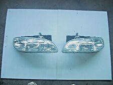 1996 1997 1998 Pontiac Grand Am PAIR BOTH SIDE HEADLIGHT HEAD LAMP LIGHT