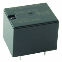 NTE Electronics R46-5D12-12 Series R46 General Purpose DC Mount Relay