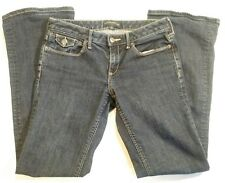 Banana Republic Womens Blue Jeans Boot Cut Stretch Low Rise Size 2S 30x30