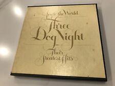"THREE DOG NIGHT ""Joy To The World / Their Greatest Hits"" 4 Track - CRC 1R1 6302"