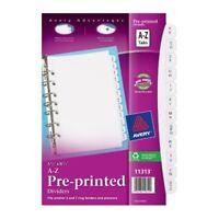"Avery Preprinted Tab Divider - Printeda-z - 12 Tab[s]/set - 5.50"" X 8.50"" - 26 /"