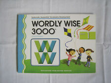 NEW WORDLY WISE 3000 Book 1 (Systematic, Sequential Vocabulary Development)