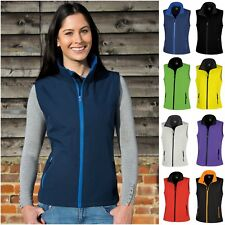Ladies Womens Softshell Bodywarmer Sleeveless Jacket Gilet Body Warmer Fleece