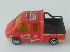 Vintage ! 80s' Diecast  Jack's Towing Toy Car ( Made in France)