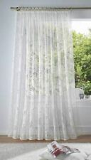 Gardine  Vorhang Höhe 175cm  breite 450cm  Store weiss