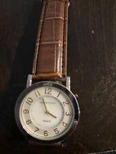 Women's, Anne Klein Watch, Brown leather,