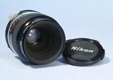 Nikon Micro Nikkor Auto 55mm f/2.8 Macro Prime Lens AIs *