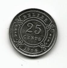 World Coins - Belize 25 Cents 1994 Coin KM# 36 High Grade