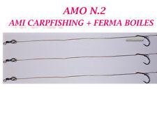 TERMINALI PRONTI CARPFISHING AMI LEGATI CARP FISHING AMI PESCA BOILES CARPA