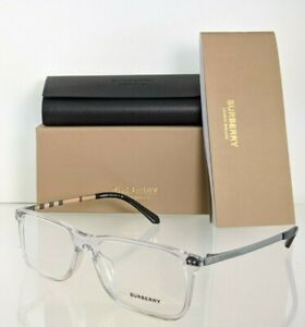 Brand New Authentic Burberry Eyeglasses BE 2282 3024 Clear 55mm Frame 2282 -F