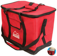 Extra Large 30L Insulated Cooler Cool Bag Box Picnic Camping Food Drink Ice