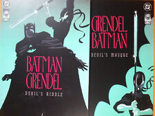 BATMAN GRENDEL #1 & #2 Devil's Riddle & Devils Masque (DC comics Vol.1).NM+ 9.8
