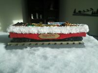 O scale Custom Christmas Gondola with presents. fits Lionel, MTH one of a kind