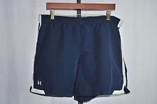 Under Armour Dark Blue Athletic Shorts Men's Sz M