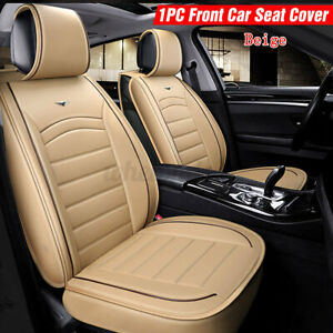 Breathable PU Leather Car Seat Cover Protector Cushion Universal Full Wrapping