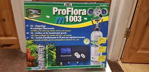 Co2 Aquarium JBL Proflora m1003 PH Controller Kit, 2kg CO2 Bottle and xtras